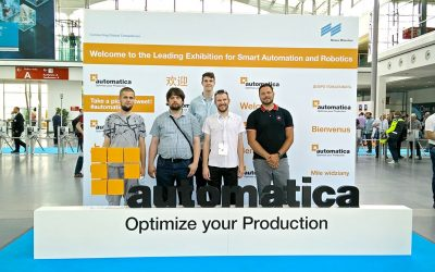 RoboTech Vision visited the international exhibition Automatica