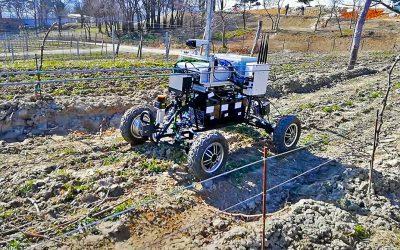Prvý test autonómnej navigácie vo vinohrade bol úspešný