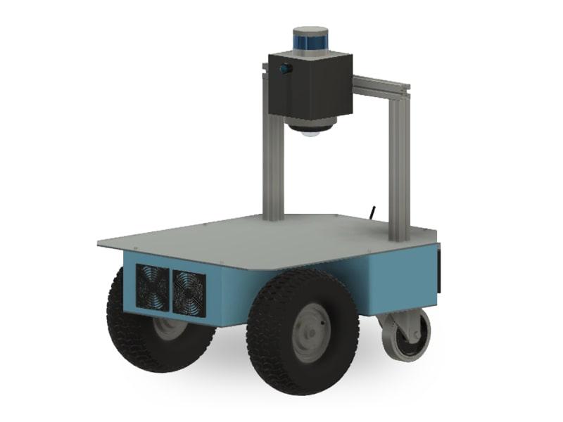 Caster autonomous robot