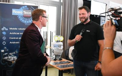 RoboTech Vision participated in the European Researchers' Night