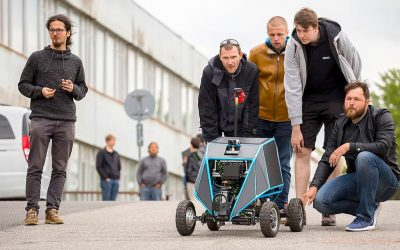 Robot Androver II vyhral prvé miesto v medzinárodnej súťaži