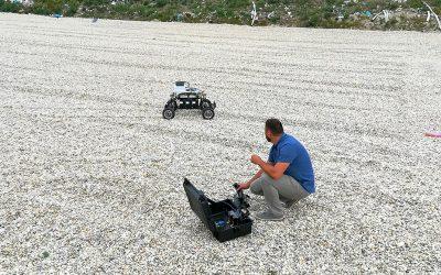 Robot Androver II podstúpil testovanie pre geologický projekt