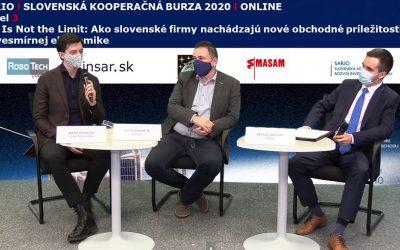 RoboTech Vision sa zúčastnila Slovenskej kooperačnej burzy 2020