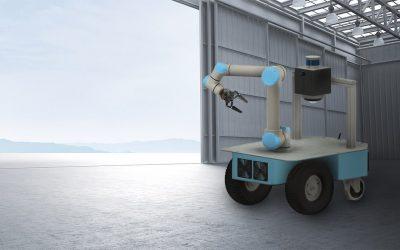 RoboTech Vision has developed a new Caster indoor robotic platform
