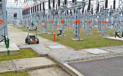 An autonomous robot by RoboTech Vision will inspect a power substation